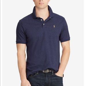 Polo Ralph Lauren navy cotton polo